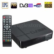 NEW HD 1080P K2 DVB-T2 Digital Video Terrestrial PVR Receiver STB TV Box +Remote
