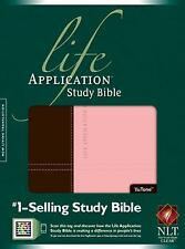Life Application Study Bible NLT, Tutone (2011, Imitation Leather)