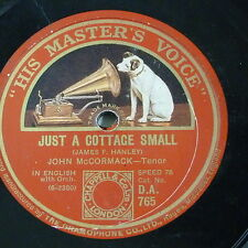 78rpm JOH McCORMACK just a cottage small / mother my dear