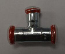 Geberit Mapress 21207 T-Stück reduziert Ø 22x18mm Reduzierung Pressfitting Neu