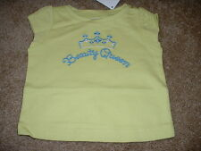 GYMBOREE BABY GIRLS GREEK ISLE BEAUTY QUEEN SHIRT Size 3-6 mos months NWT NEW