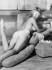 MARILYN MONROE NORMA JEAN TOPLESS EARLY YOUNG 11x17 PHOTO POSTER REPRINT PRINT