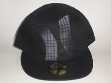 New Era 59Fifty Hurley TOWNSER Hat Black 7 1/4 ($35) Cap Skate Ski Surf Fitted