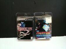 2 NEW Tiger Game.com Games Resident Evil 2 & Fighters Megamix Factory Sealed