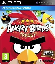 PS3 ANGRY BIRDS TRILOGY KIDS GAME EXCELLENT CONDITION REGION FREE