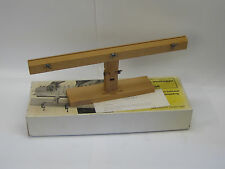 Vintage Aeropiccola Hull Planking Vise Ship Modeling Tool Made in Italy