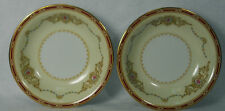 NORITAKE china 1802 Nippon Toki Kaisha Fruit Berry Bowls Set of Two (2) - 5-5/8""