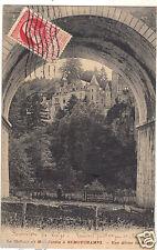Belgique - Le château de Mon Jardin à REMOUCHAMPS - Une arche du pont