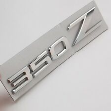 Chrome 350Z Car Auto Aluminum Emblem Badge Stickers for NISSAN 350Z Fairlady Z33
