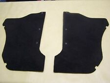 Datsun 1200, b110, b120, ute, sedan, wagon, black carpet kick trims. NEW!