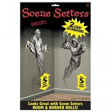 Halloween Ghosts Scene Setter Add On Decorations x 2