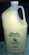 BACK TO BASICS ~ SUNFLOWER MOISTURE CONDITIONER GALLON ~ ORIGINAL SALON FORMULA