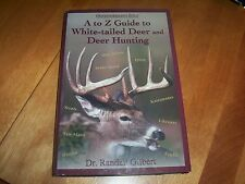 WHITE-TAILED DEER Hunting Hunter Gun Big Game Book Big-Game Hunter Hunt NEW!