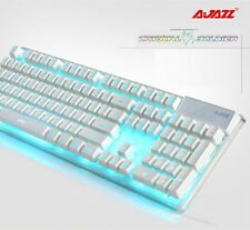 UK Ajazz Crystal Soldier AK6 illuminated Usb Gaming Keyboard with 7 LED Backlit