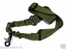 Tactical 1 Point Lanyard CQB QD Sling For BBs SMG Rifle Airsoft AEG OD (216)