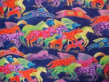 Laurel Burch Fabric Dancing Horses BTY