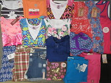 NWT Girls Summer Clothes Lot Size 12 L 14 Justice Mudd Speechless Outfits Sets