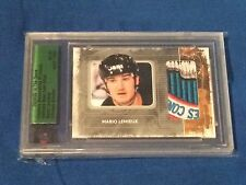 Mario Lemieux 08/09 ITG Ultimate Memorabilia 9th Ed Stanley Cup Patch 6/9