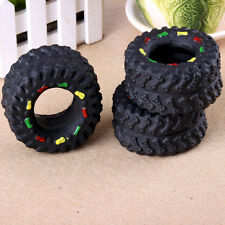 Pet Puppy Chew Squeaker Squeaky Sound Tyre For Dog Toys 1PC
