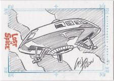 THE COMPLETE LOST IN SPACE BASE SKETCH CRIS BOLSON JUPITER 3 SHIP RARE VHTF