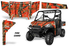 AMR Racing Polaris Ranger 570/900 UTV Graphic Kit Wrap Decal Part 13-15 FIRECAMO