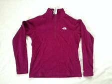 THE NORTH FACE girls  WARM ZIP NECK Purple magenta Color Size XL SXS