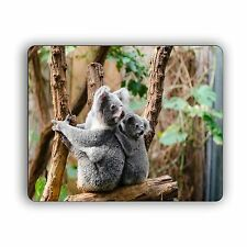 "Mom and Baby Koala Computer Mouse Pad Nature Wildlife mousepad 8"" x 10"""