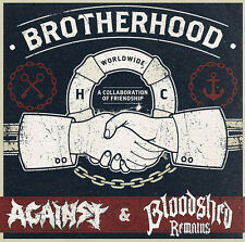 Bloodshed Remains / Against - Brotherhood LP MADBALL HOODS FIRST BLOOD TERROR