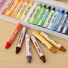 New 25Colours/Set Bulk Wax Crayons Children Kids Drawing Gift Colorful Stick DIY