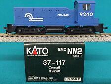 37-117 Kato HO NW2 Phase I Conrail Engine NIB