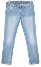 Levis SLIM SKINNY Slight Curve Low Rise LIGHT BLUE Stretch Jeans SIze 12 W31 L30