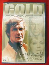 Gold mint DVD Roger Moore Susannah York Ray Milland Full Screen OK print