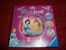Disney PRINCESS Junior puzzleball 96 pieces, 12 cm, Ravensburger
