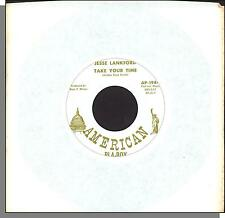 """Jesse Lankford - Take Your Time + I'll Have To Be With You Again - 7"""" Single!"""