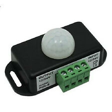 New Automatic DC 12V-24V 8A Infrared PIR Motion Sensor Switch For LED light