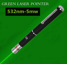 Hot ! Powerful Green Laser Pointer Pen Beam Light 5mW Lazer High Power 532nm New