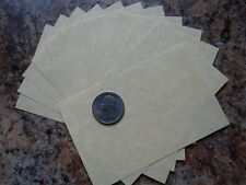 Parchment Paper Lightweight 12ct. Pagan Witchcraft Altar Spell Writing Supply