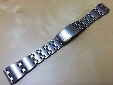19MM SEIKO STAINLESS STEEL GENTS STRAP FOR VARIOUS SEIKO WATCHES