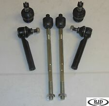 2 Inner 2 Outer Tie Rod End 2 Lower Ball Joints SUBARU Impreza Forester Susp.