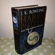 Harry Potter and the Deathly Hallows 1st First Edition Hardback Book