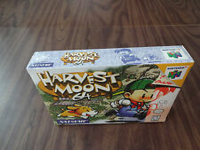 Harvest Moon 64 (Nintendo 64, N64) Brand New - Factory Sealed - See pictures
