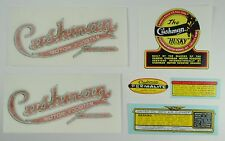 Cushman vinyl stickers collection for most 1950-58 Cushman Step-Thru scooters