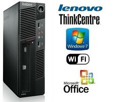 Custom Gaming Desktop PC Core i5 3.2GHz CPU 8GB 1TB HDD WIN 7 Pro DVD/RW WiFi