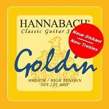 HANNABACH 725 Goldin Saiten für Konzertgitarre