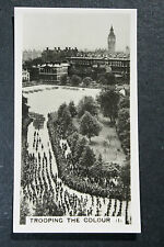 Trooping The Colour   Aerial View    Vintage Photo Card ## VGC