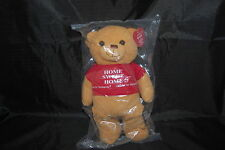 "Habitat For Humanity Sawyer Teddy Bear New Limited Edition Tan Red Plush 11"" Toy"