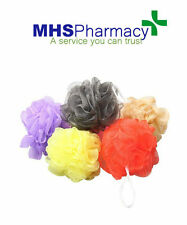 5 x Bath Shower Body Puff Sponge Mesh Ball Random Color Scrunchie Wash