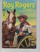 Roy Rogers  #41 ( Photo Cover  FN  6.0) May-1951,  DELL