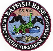 Batfish Base - SS 310 -United States Submarine Veterans - BCPatch Cat. No. C5993