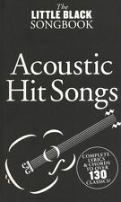 The Little Black Songbook of Acoustic HITS Learn to Play POP Guitar Music Book